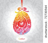 easter card   Shutterstock .eps vector #72730564