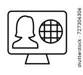 profile icon | Shutterstock .eps vector #727306306