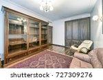 interior home office | Shutterstock . vector #727309276
