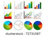 illustration of set of bar...   Shutterstock .eps vector #72731587