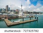 scenery view of viaduct harbour ... | Shutterstock . vector #727325782
