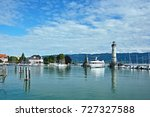 germany view of the port of... | Shutterstock . vector #727327588