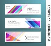vector horizontal banner...   Shutterstock .eps vector #727328176