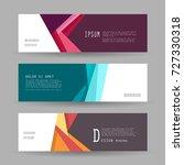 vector horizontal banner... | Shutterstock .eps vector #727330318