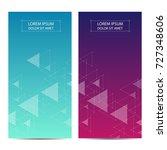 minimal covers or banner design.... | Shutterstock .eps vector #727348606