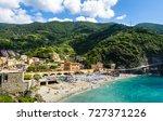 monterosso al mare  italy  the... | Shutterstock . vector #727371226