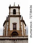 Colonial Catholic Church - stock photo