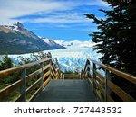 perito moreno glacier in los... | Shutterstock . vector #727443532