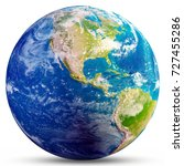 planet earth   america.... | Shutterstock . vector #727455286
