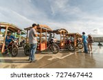 sep 21 2017 tour tricycle...   Shutterstock . vector #727467442