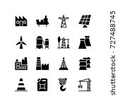 various icons representing...   Shutterstock .eps vector #727488745