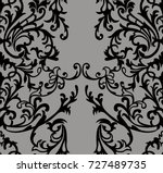 seamless vintage background.... | Shutterstock . vector #727489735