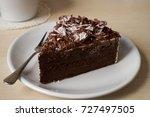 Slice Of Dark Chocolate Truffle ...