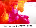 inks in water  color abstraction   Shutterstock . vector #727512178