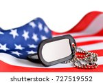 american flag and soldiers... | Shutterstock . vector #727519552