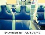 Seats In Passenger Train Car ...