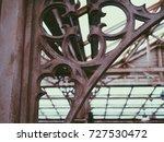 medieval victorian crystal... | Shutterstock . vector #727530472