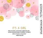 Baby Shower Girl Card Design...