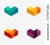 modern abstract design vector... | Shutterstock .eps vector #727547182