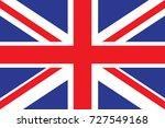 united kingdom flag... | Shutterstock . vector #727549168