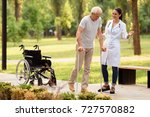 time to walk in the park. a... | Shutterstock . vector #727570882