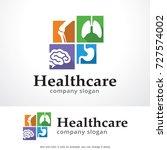 health care logo template...   Shutterstock .eps vector #727574002