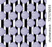 shell pattern  vector ... | Shutterstock .eps vector #727578055
