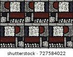 seamless african pattern....   Shutterstock .eps vector #727584022