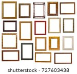 picture frame collection | Shutterstock . vector #727603438