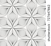 linear vector pattern ... | Shutterstock .eps vector #727647862