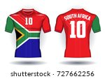 template for south africa... | Shutterstock .eps vector #727662256