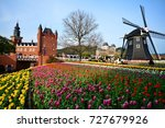 huis ten bosch  fukuoka march... | Shutterstock . vector #727679926