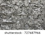 stone or concrete wall texture. ... | Shutterstock . vector #727687966