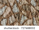 stone or concrete wall texture. ... | Shutterstock . vector #727688032