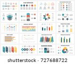 vector arrows infographic ... | Shutterstock .eps vector #727688722