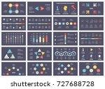 vector arrows infographic ... | Shutterstock .eps vector #727688728