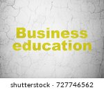 education concept  yellow... | Shutterstock . vector #727746562