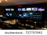 blur image video switch of... | Shutterstock . vector #727757092