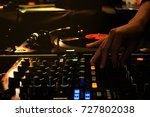 colorful with hand adjust mixer ... | Shutterstock . vector #727802038