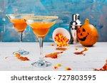 Autumn Pumpkin Margarita...