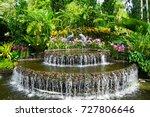 singapore botanic gardens  ... | Shutterstock . vector #727806646