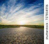 asphalt road closeup and... | Shutterstock . vector #727818556