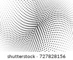 abstract halftone wave dotted... | Shutterstock .eps vector #727828156