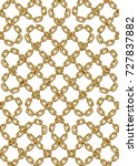 vector seamless pattern of... | Shutterstock .eps vector #727837882