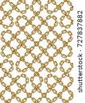 vector seamless pattern of... | Shutterstock .eps vector #727837882