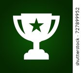 trophy cup icon | Shutterstock .eps vector #727899952
