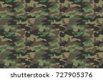 camouflage seamless pattern... | Shutterstock .eps vector #727905376