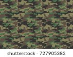 camouflage seamless pattern... | Shutterstock .eps vector #727905382