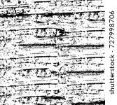 grunge texture black and white. ... | Shutterstock . vector #727998706