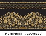 vector seamless pattern in... | Shutterstock .eps vector #728005186